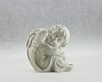 Ange porcelaine blanche